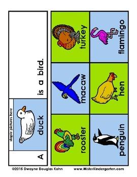 WEEKLY FREEBIE #64: Animal Flip Booklets