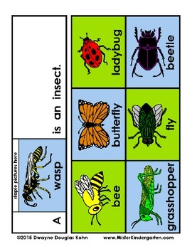 WEEKLY FREEBIE #66: Insect or Not Flip Booklets