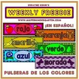 WEEKLY FREEBIE #77: Pulseras de los Colores