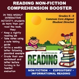 Reading NON FICTION Comprehension Booster