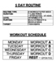 WEIGHT TRAINING & CONDITIONING - 5 DAY CHALLENGE