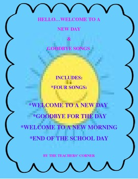 Welcome and Goodbye Songs Bundle Pack