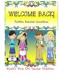 WELCOME BACK! Positive Behavior Incentives