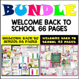WELCOME BACK TO SCHOOL AND MORE  (66 PAGES)