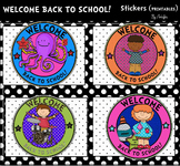 WELCOME BACK TO SCHOOL! Stickers