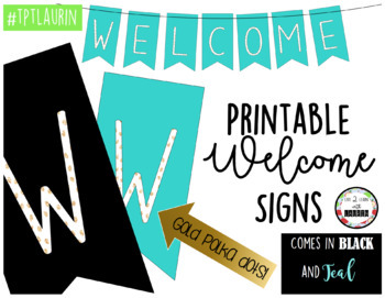 WELCOME BANNER (2 CHOICES)