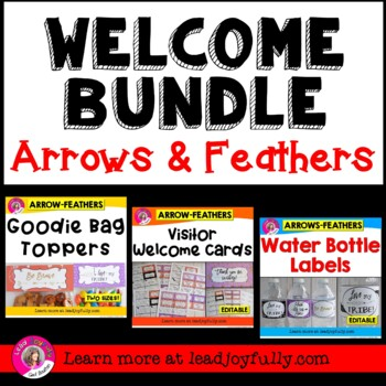 WELCOME BUNDLE (Arrows & Feathers Theme)