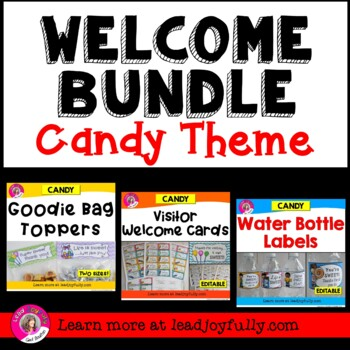 WELCOME BUNDLE (Candy Theme)