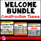 WELCOME BUNDLE (Construction Theme)