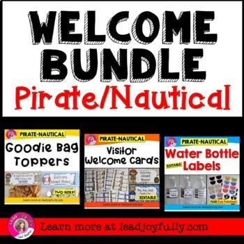 WELCOME BUNDLE (Pirate/Nautical Theme)