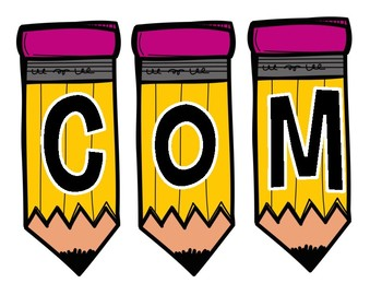 WELCOME Pencil Banner