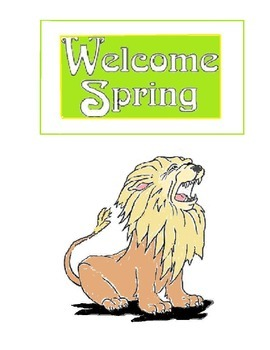 """BULLETIN BOARD:""""APRIL SHOWERS BRING MAY FLOWERS"""" WELCOME SPRING-22 PRINTABLES!"""