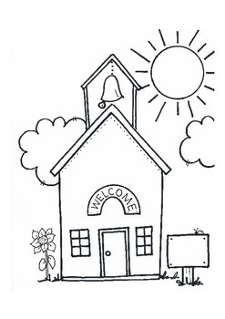 'WELCOME' Schoolhouse