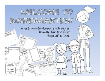 WELCOME TO KINDERGARTEN KIT