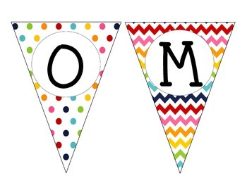 WELCOME banner rainbow- free