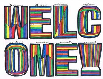 WELCOME! place value MathArt 3rd grade