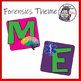 WELCOME sign for Medical Detective or Forensic Science Theme