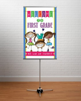 WELCOME to 1st Grade - medium BANNER / 1st Grade