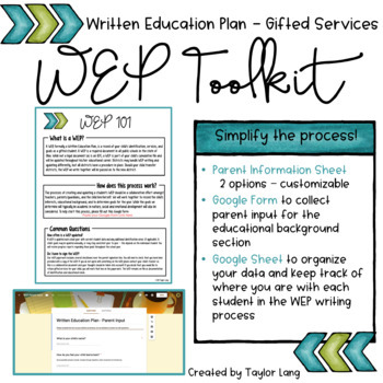 WEP Toolkit - Ohio Gifted Services