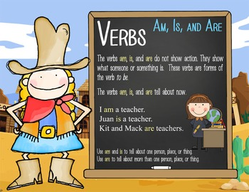 WESTERN - 2nd grade GRAMMAR posters / Scott Foresman Reading