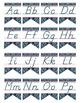 WESTERN - Alphabet Flag Banner, handwriting, A to Z, D'Nea