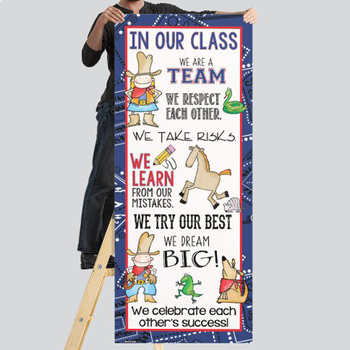 WESTERN - Classroom Decor: LARGE BANNER, In Our Class