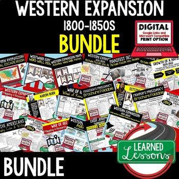 WESTERN EXPANSION BUNDLE (AMERICAN HISTORY BUNDLE)