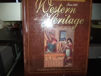 WESTERN HERITAGE   ISBN 0 02 363280 1