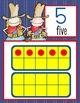 WESTERN - Number Line Banner, 0 to 20, Illustrated / blue jean
