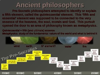 WESTERN PHILOSOPHY (PART 1: ANCIENT PHILOSOPHERS) Overview of Western Thought