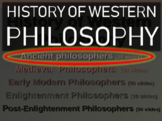 WESTERN PHILOSOPHY (PART 1: ANCIENT PHILOSOPHERS) Overview