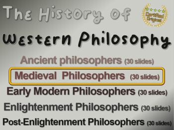 WESTERN PHILOSOPHY (PART 2: MEDIEVAL PHILOSOPHERS) Overvie