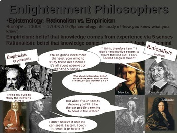 WESTERN PHILOSOPHY (PART 4 ENLIGHTENMENT PHILOSOPHY) Overview of Western Thought