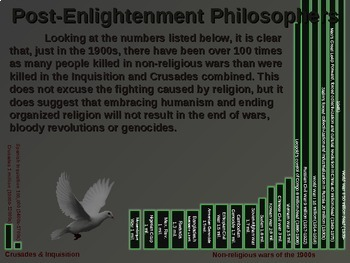WESTERN PHILOSOPHY (PART 5: POST-ENLIGHTENMENT) Overview of Western Thought