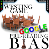WESTING GAME PreReading Bias Discussion Activity (Digital Distance Learning)