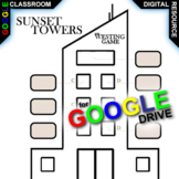 WESTING GAME Sunset Towers Map Activity (Digital Distance Learning)