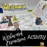 WESTWARD EXPANSION LAP BOOK WITH READINGS