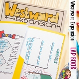 WESTWARD EXPANSION LAP BOOK WITH READINGS for ELL or 5th