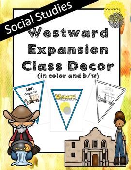 WESTWARD EXPANSION decoration