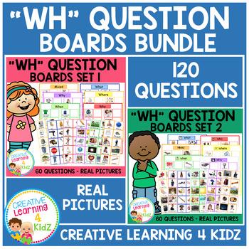 WH Question Board Bundle