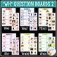 WH Question Boards Set 2