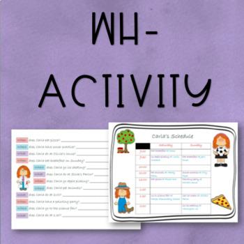 WH- Activity