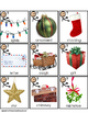 WH Christmas Words Flashcards with Visual Cues for Autism