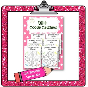 WH Cootie Catchers/ Fortune Tellers