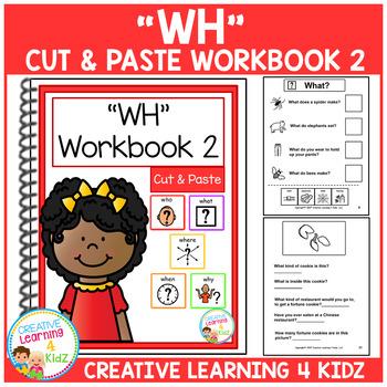Cut & Paste WH Workbook Bundle Autism