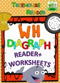 WH DIAGRAPH Reader & Worksheets & Flashcards: Willy the Whale