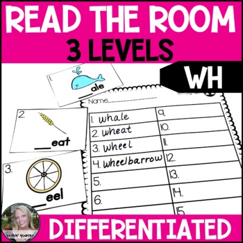 WH Differentiated Read the Room