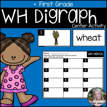 WH Digraph Literacy Center Activity