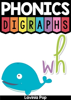 WH Digraph word work unit