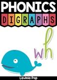 FREE Digraph WH: Phonics Word Work {Multiple Phonograms}